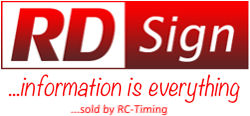 RD Sign - Information is everything